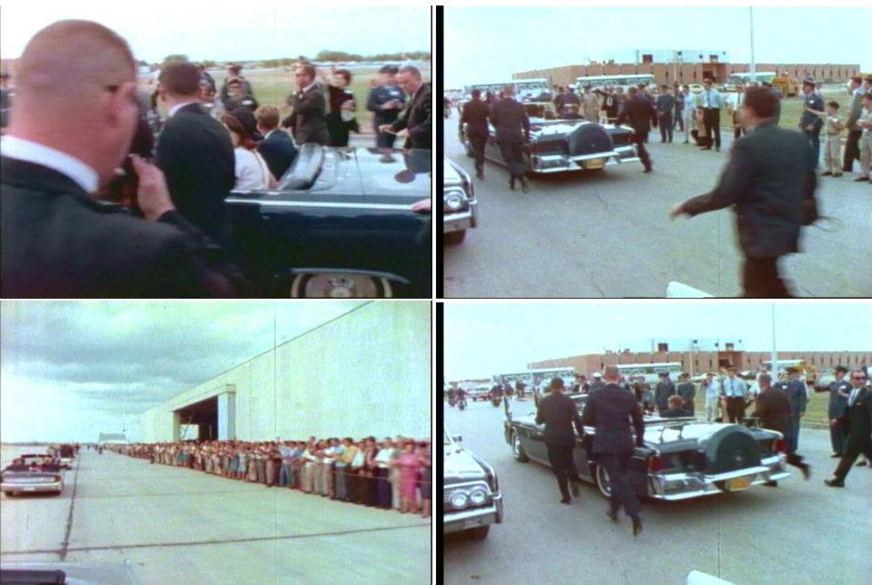11/21/63: AGENTS BESIDE JFK'S LIMO!