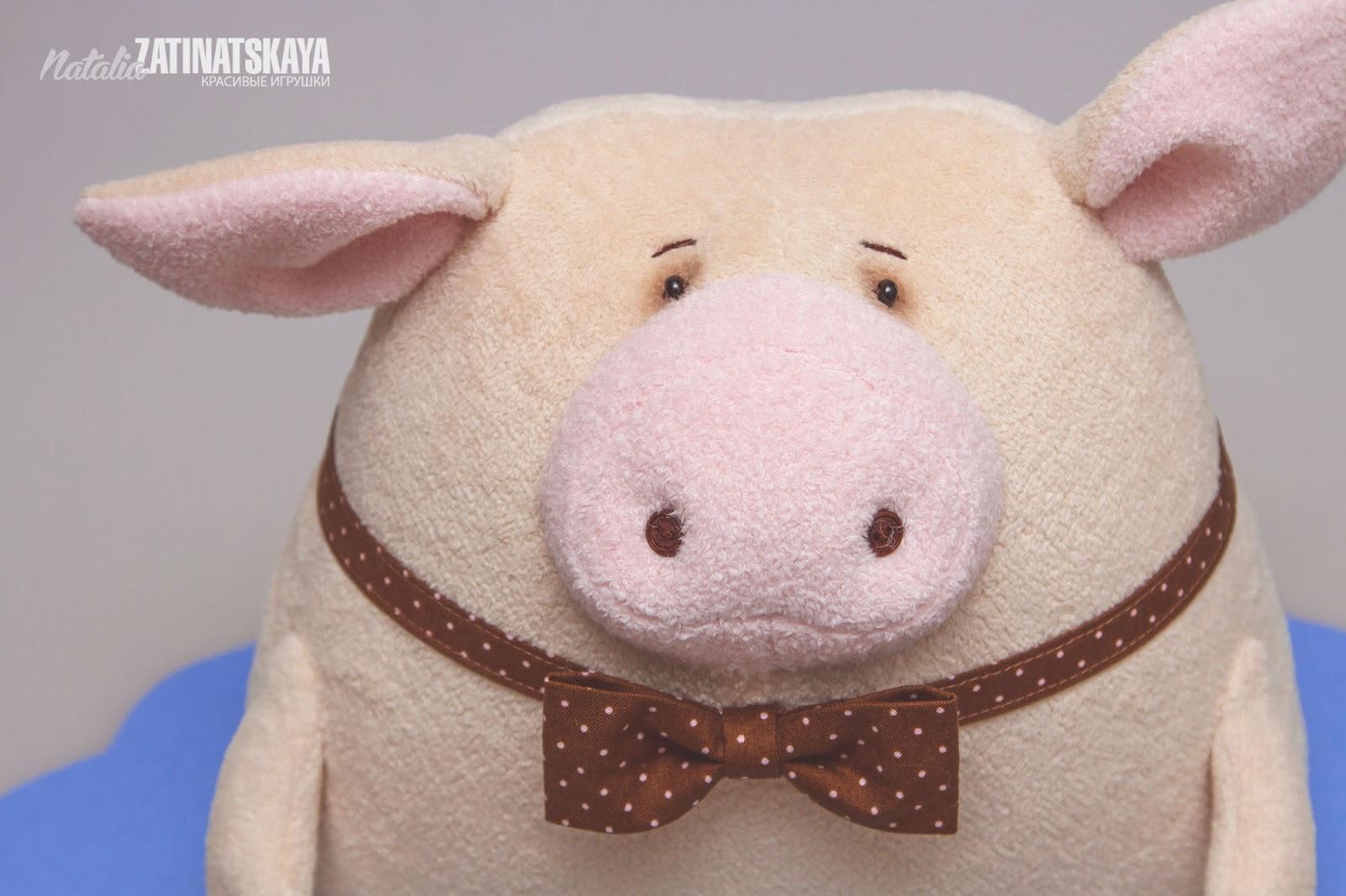 Игрушка свинка Пеппа своими 36