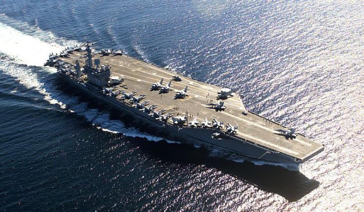 İran, gizli bir şekilde Amerikan uçak gemisinin kopyasını inşa ediyor
