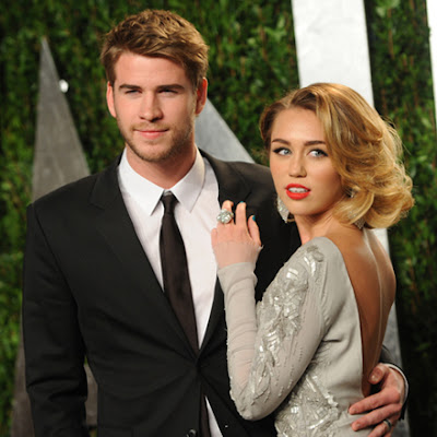 Miley Cyrus Married on Miley Cyrus Engaged To Liam Hemsworth    Lookers Blog