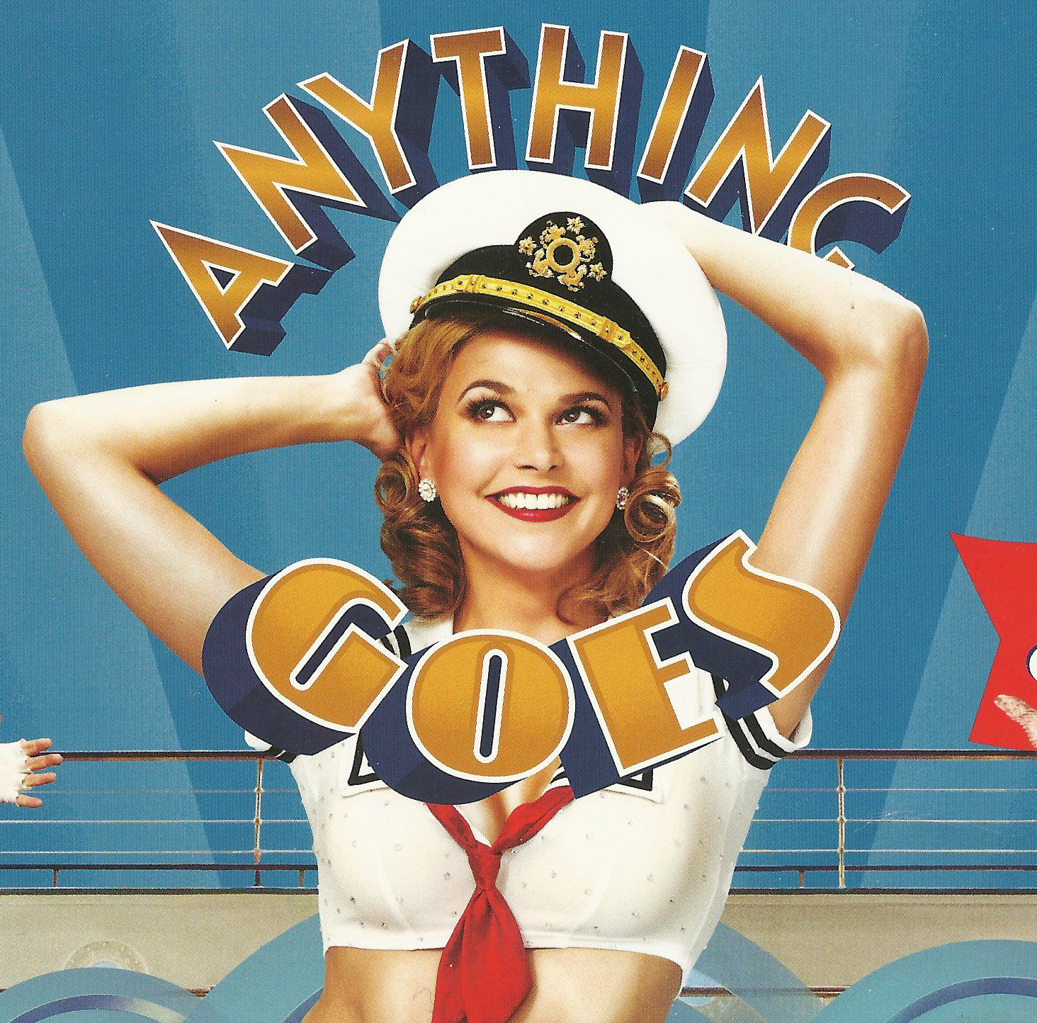 anything goes Joel grey and sutton foster in the broadway revival of anything goes credit sara krulwich/the new york times  so be willing to suspend your need for logic and your intolerance for groaning jokes.