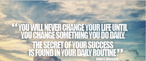 The secret of your success