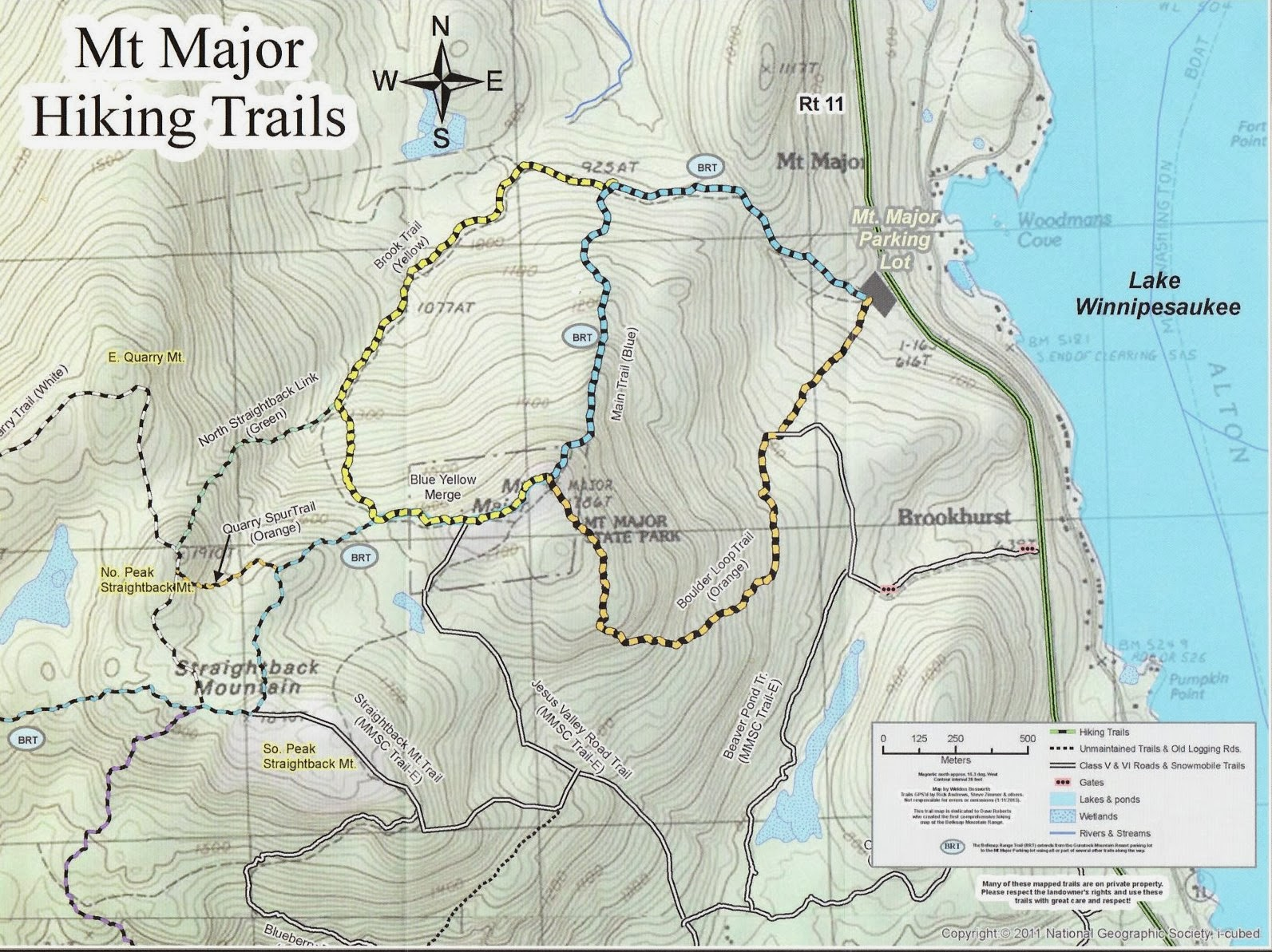 Spicebush Log: Mount Major