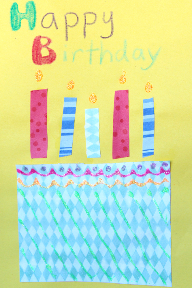 Handmade Birthday Cards for Kids – Easy Handmade Birthday Card Ideas