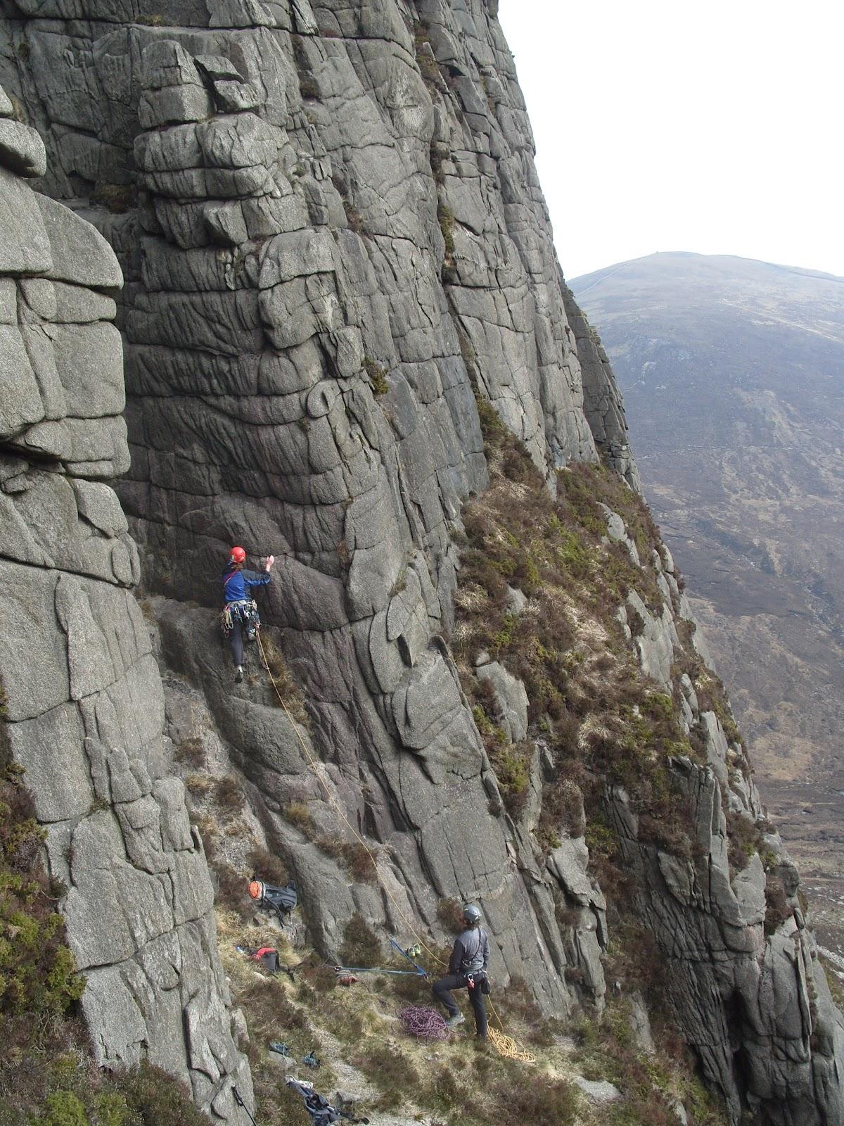Kerryclimbing Multi Pitch Climbing Inthe Mournes