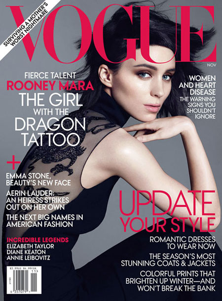 rooney mara vogue