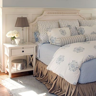 Coastal Style Elegant Bedrooms