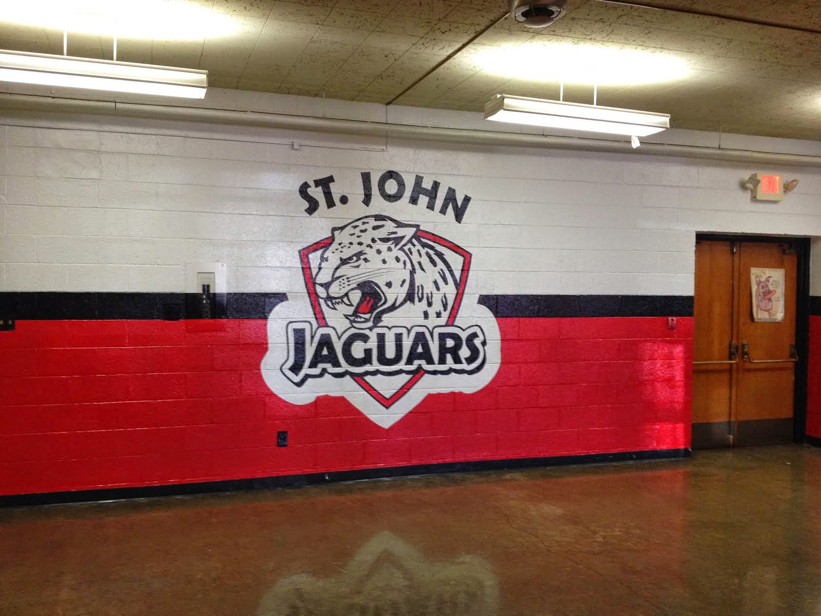 St. John's cafeteria