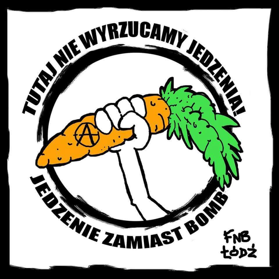 Ważne działania społeczne innych organizacji w Łodzi: FOOD NOT BOMBS
