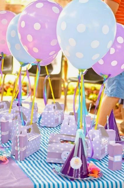Como Decorar Un Parque Para Una Fiesta Infantil