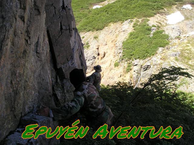 Explorando un valle patagónico inhóspito