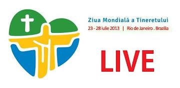 Ziua Mondiala a Tineretului 2013 LIVE Rio De Janeiro, in direct zmt brazilia