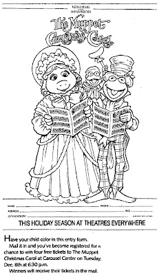Winter paper doll coloring pages for Christmas carol coloring pages