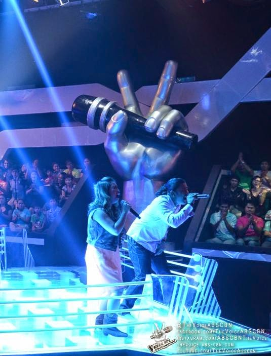 Rence Rapanot wins The Battles vs Casper Blancaflor on 'The Voice PH'