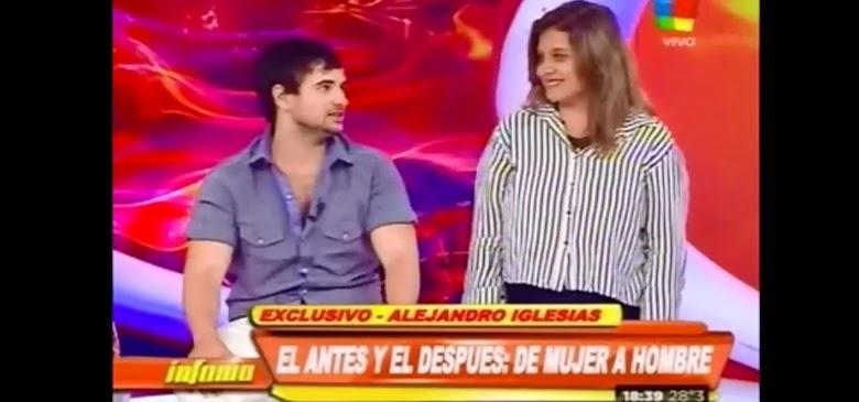 Alejandro Iglesias exGH y su novia