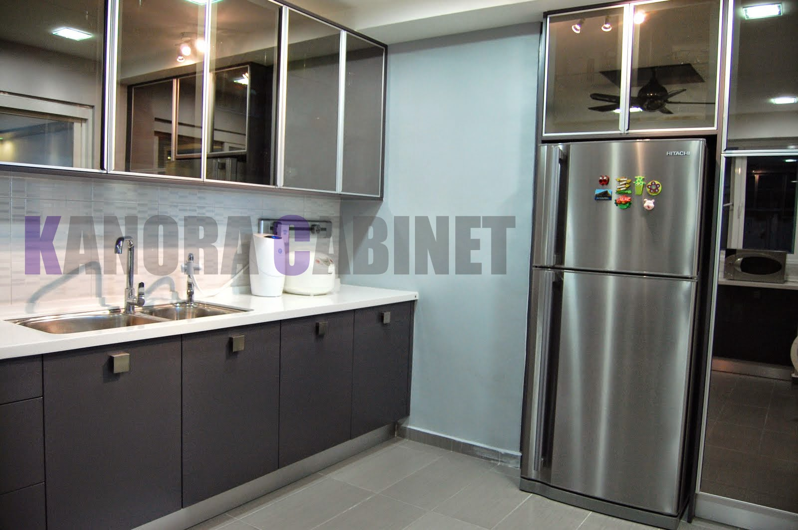 Kitchen Cabinet Material Malaysia.Jill Janine\'s Hutch Before And ...