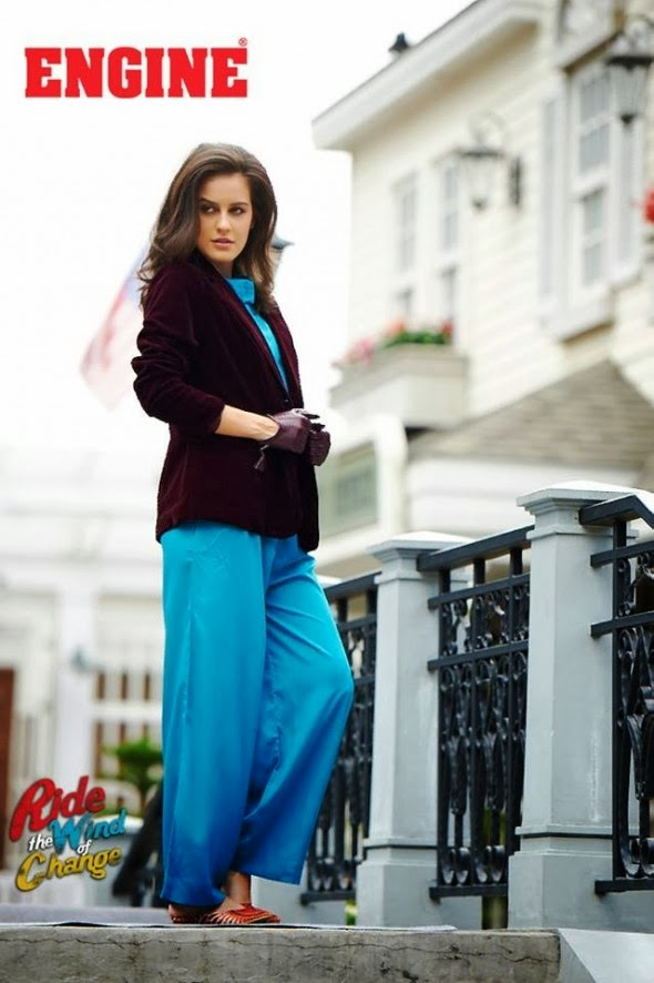 Latest And Stylish Western Wear Winter Collection 2014 For Girls And Women By Engine