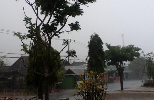 Alhamdulillah, Sepekan Hujan Turun 2 kali