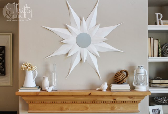 White Spring Mantel