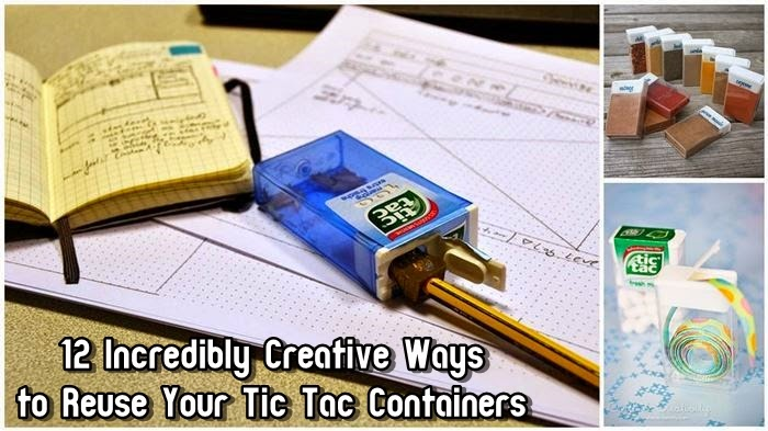 12 Incredibly Creative Ways to Reuse Your Tic Tac Containers