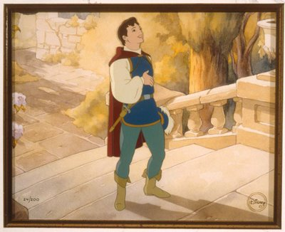 Prince Charming in Snow White and the Seven Dwarfs 1937 disneyjuniorblog.blogspot.com