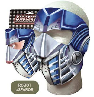 Roboto Neoprene Face Mask