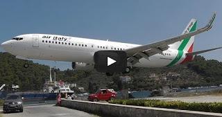 Η προσγείωση του τρόμου στο αεροδρόμιο Σκιάθου [video]