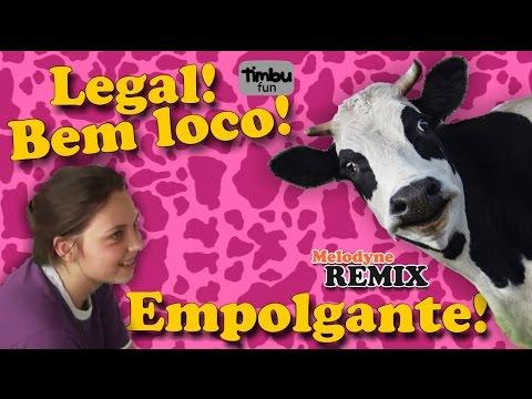 Legal! Bem loco! Empolgante! - Remixe dos Ordenhadores Mirins