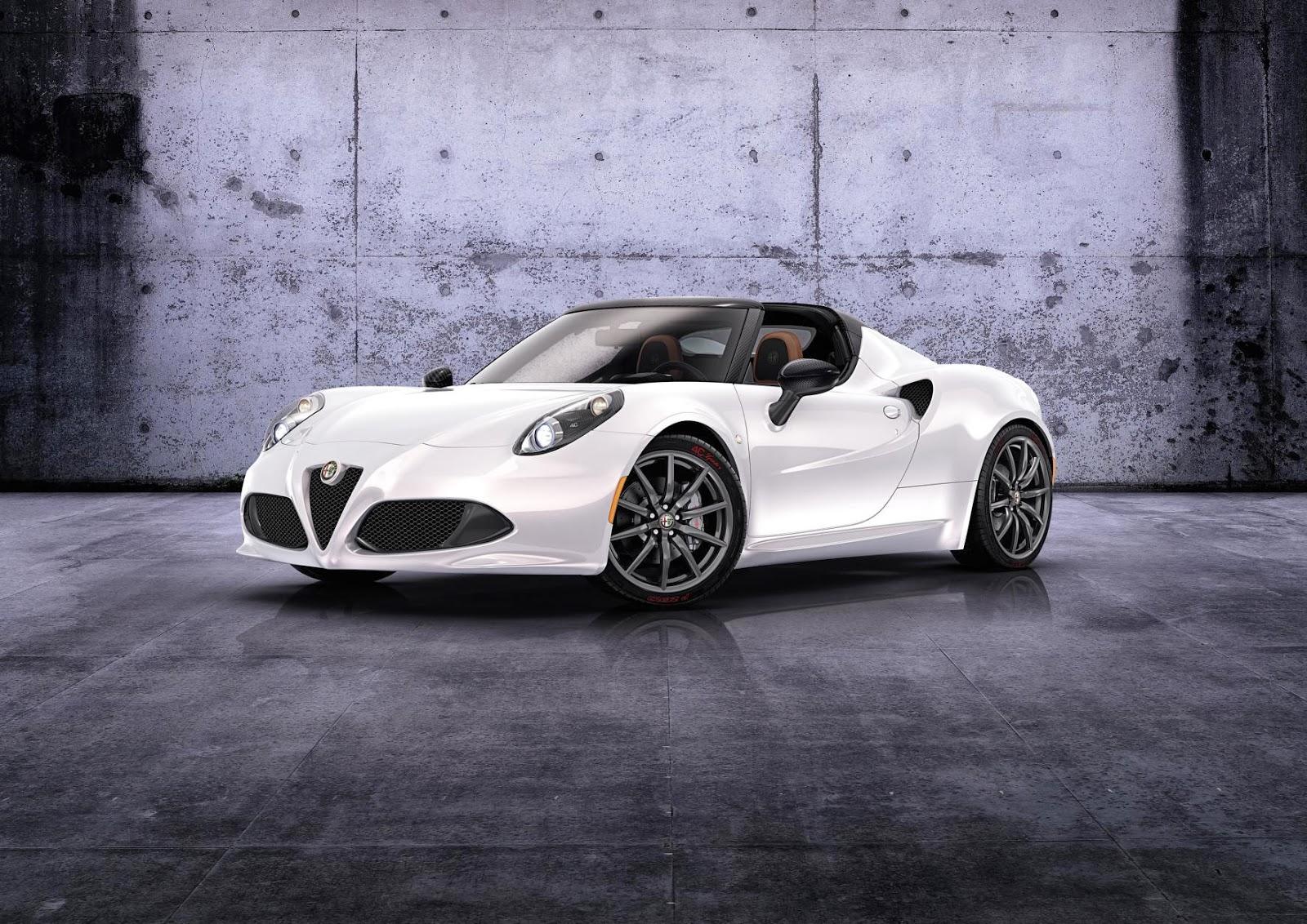 2014 Alfa Romeo 4C Spider