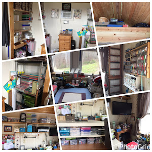 An organized Crafty Cottage