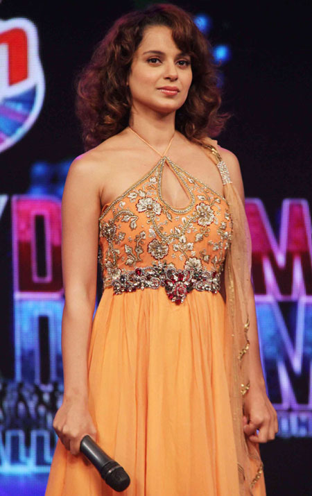 Kangana Ranaut 'Tanu Weds Manu' promotion at Chak Dhoom Dhoom