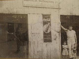 Primera Farmacia. Años 40´S. Escárcega