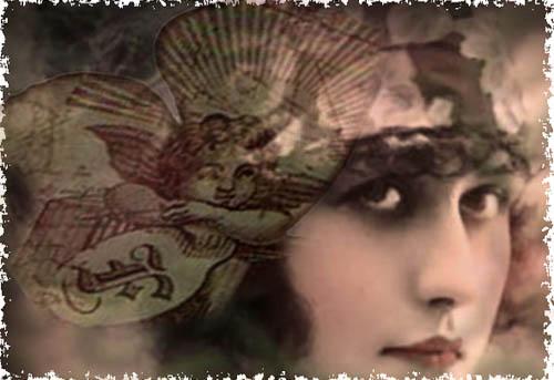 Violet Rose- digital altered