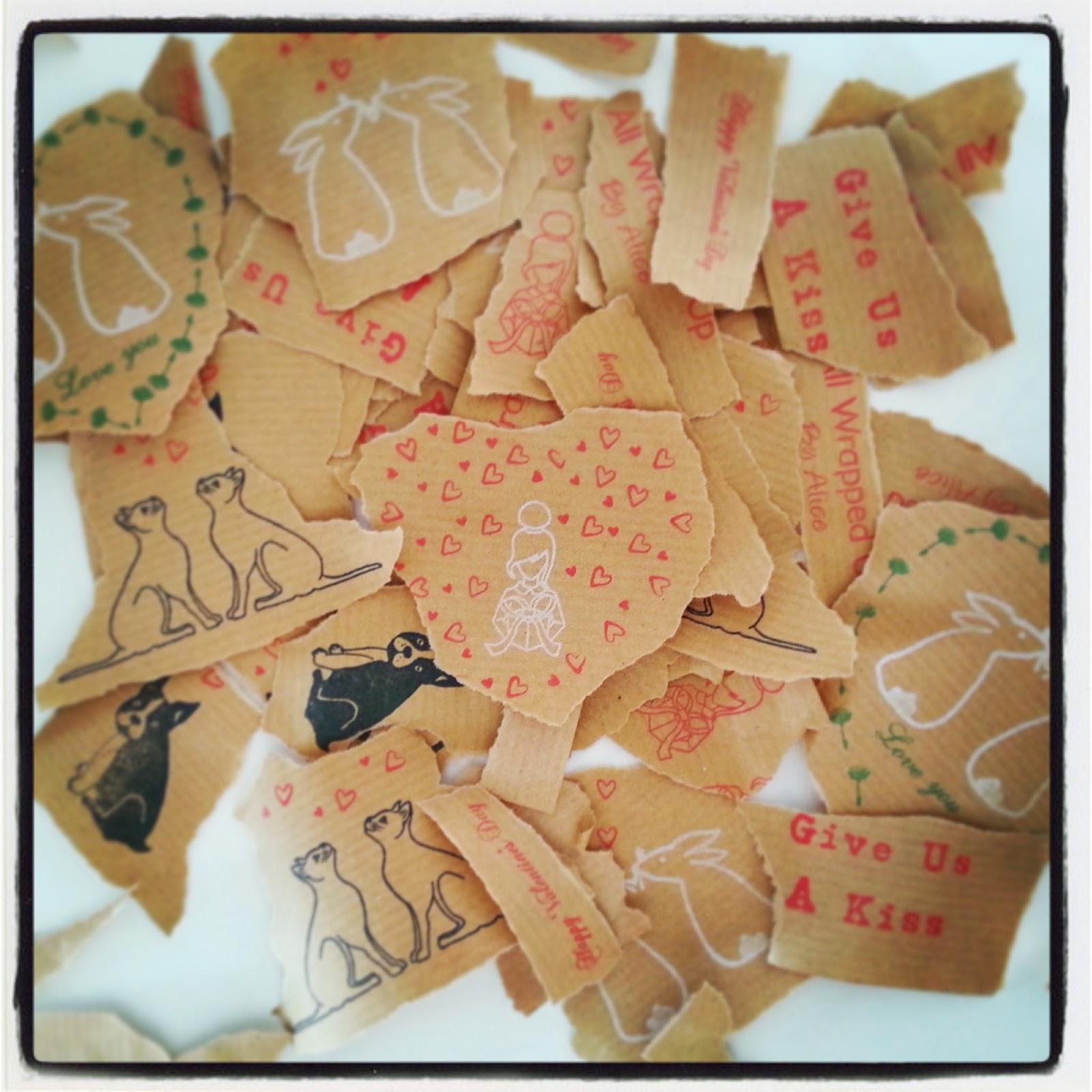 http://www.wrappedbyalice.co.uk/blog/4587767085/DIY-Decoupage-Heart/9393860