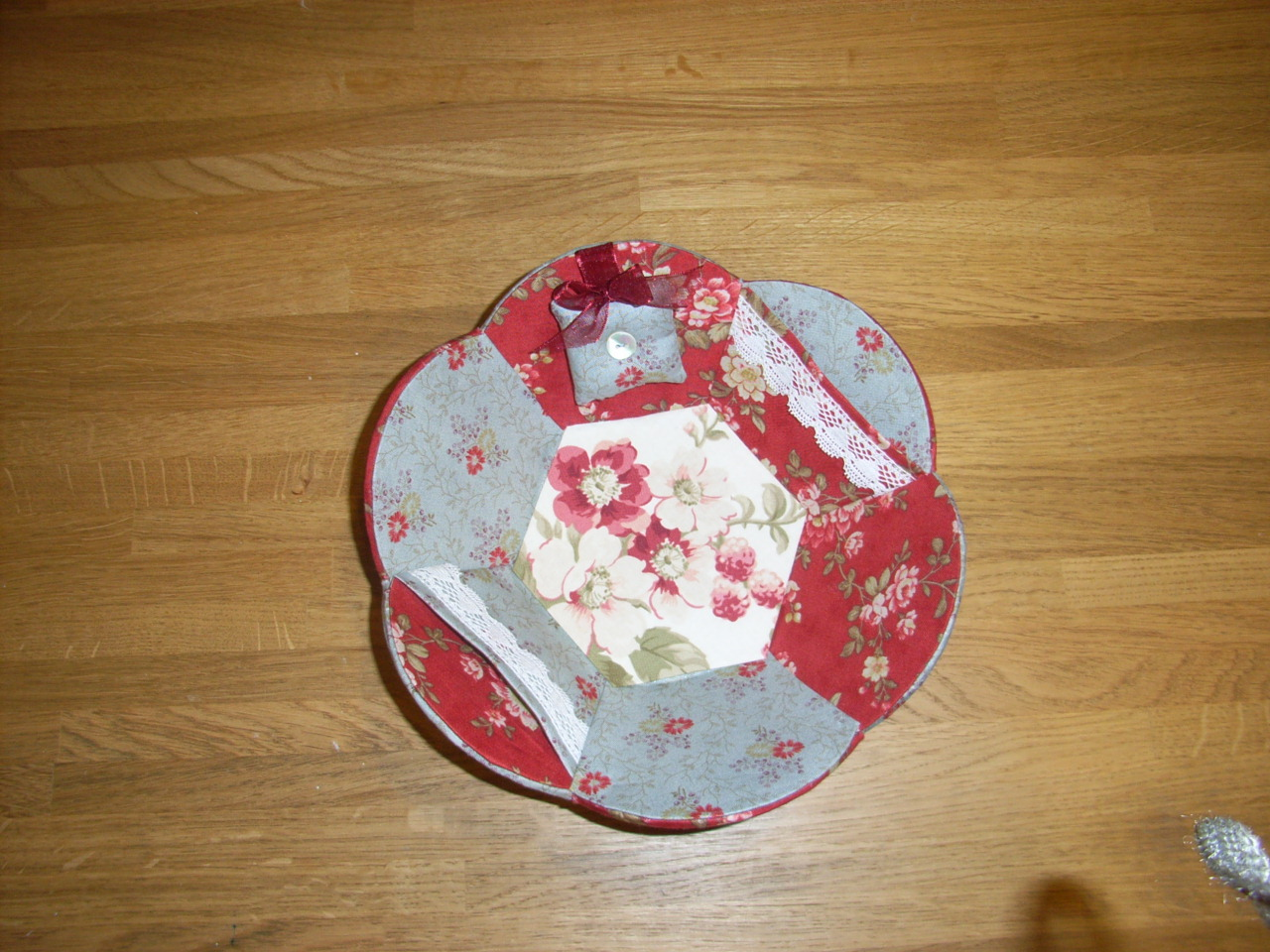Тарелка из картона своими руками