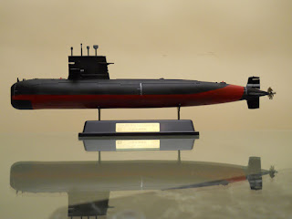 maqueta del submarino chino 039G1 clase Sung