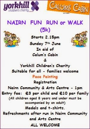 5k fun run 7th June