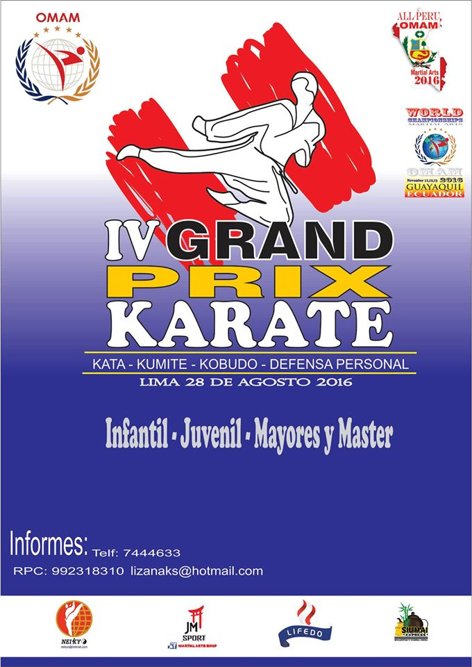 IV GRAND PRIX KARATE Lima-Perù