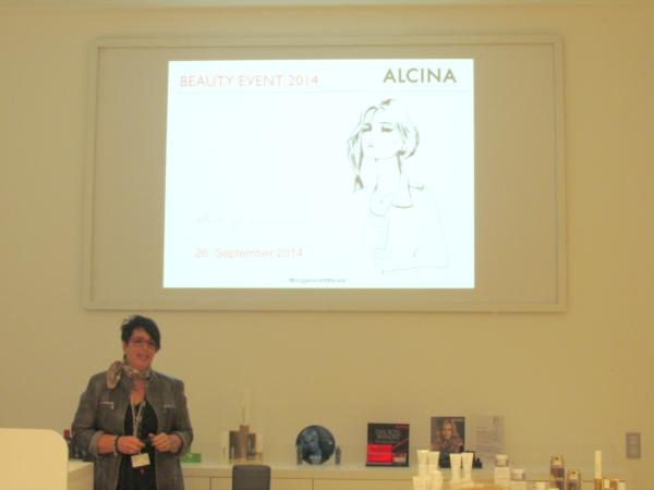 ALCINA Blogger Event Vortrag