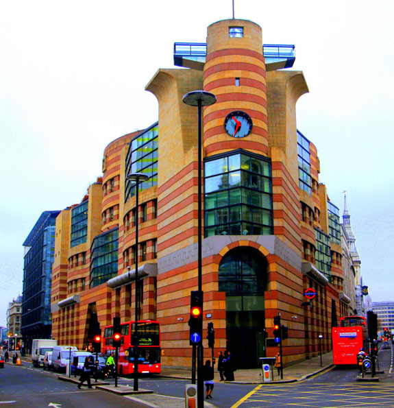 Ugly architecture - 1 Poultry building in London - You are not an architect