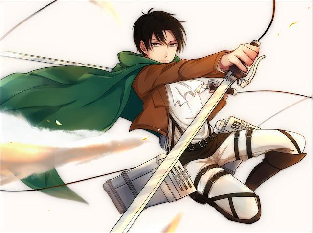 Levi Attack on Titan Shingeki no Kyojin Blade Sword Anime HD Wallpaper Desktop PC Background 2086
