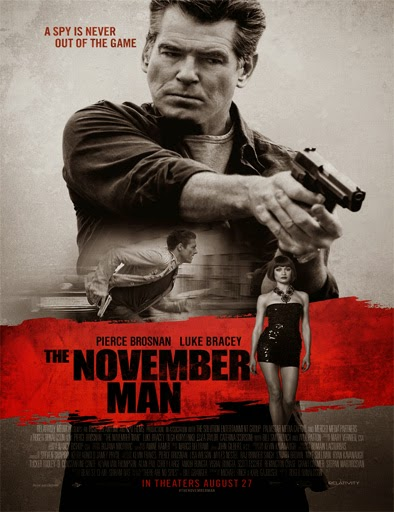 Ver La conspiracion de noviembre (The November Man) (2014) Online