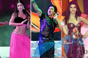 Shah Rukh Khan, Katrina Kaif, Deepika Padukone