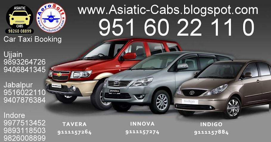 Book My Taxi Booking  in Indore Nashik Ujjain Jabalpur