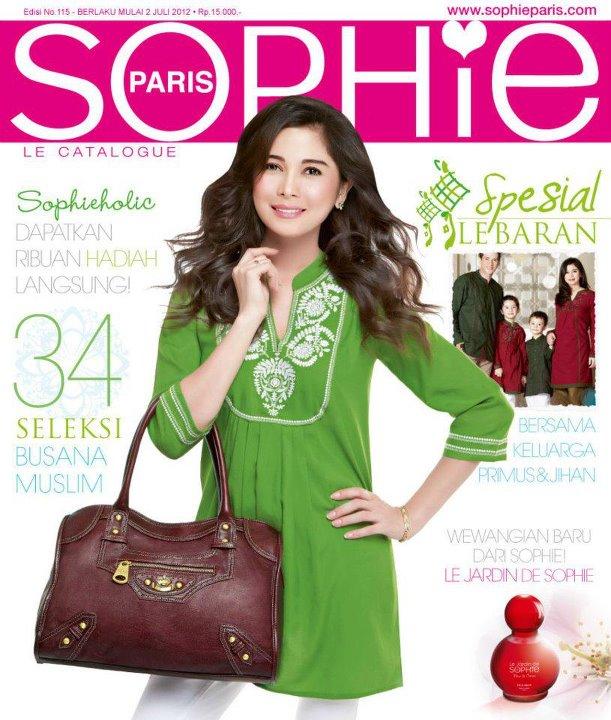Katalog Sophie Martin Paris terbaru edisi Juli - Agustus 2012 sudah ...