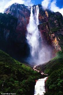 صورة لأطول شلال في العالم!
