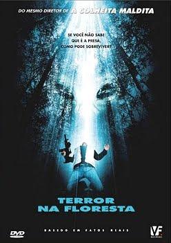 Filme Poster Terror na Floresta DVDRip XviD & RMVB Dublado