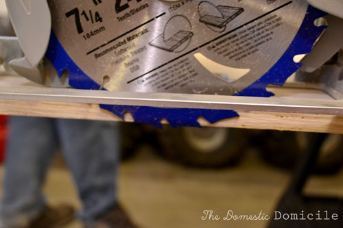 how to cut wood 10 degrees off square circular saw
