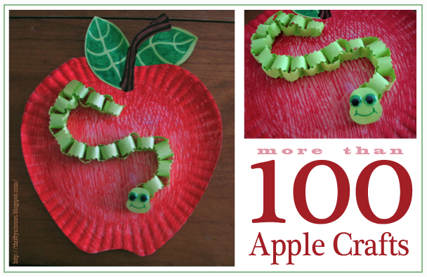 Links To More Than 100 Apple Crafts Thrifty Scissors