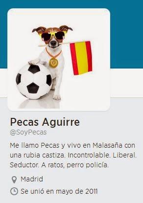 Mascota de la popular Esperanza Aguirre